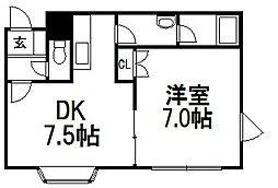 パストラル13[2階]の間取り