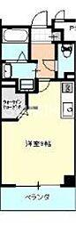 サクセション上中野[6階]の間取り