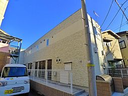 東京都足立区関原2丁目の賃貸アパートの外観