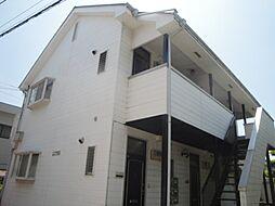 ブラックアンドホワイト[2階]の外観