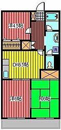 アネックスマンション[2階]の間取り