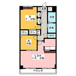 メゾン八事[2階]の間取り