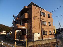 広島県東広島市高屋町中島の賃貸マンションの外観