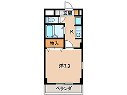 グリーンフルごう[2階]の間取り