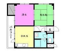 第6ミサワハウス[305 号室号室]の間取り