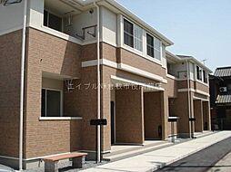 岡山県倉敷市中畝10丁目の賃貸アパートの外観