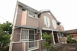 岡山県井原市七日市町の賃貸アパートの外観