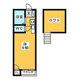 SKYROCKET II[2階]の間取り