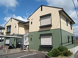 京都府京都市伏見区桃山紅雪町の賃貸アパートの外観