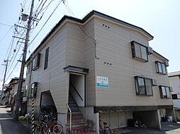 山形県山形市桜田西4丁目の賃貸アパートの外観