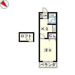 NOA518[2階]の間取り