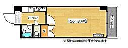 ロイヤルプレサージュ[4階]の間取り