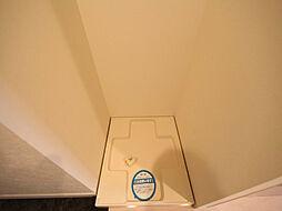 パークアクシス丸の内の室内洗濯機置場 洗濯機ご用意できます