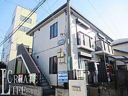 埼玉県さいたま市桜区新開1丁目の賃貸アパートの外観