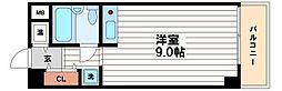 堺筋本町アーバンライフ[4階]の間取り