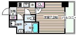 アールグラン大阪WEST[10階]の間取り
