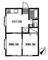 マ・メゾン6[2階]の間取り