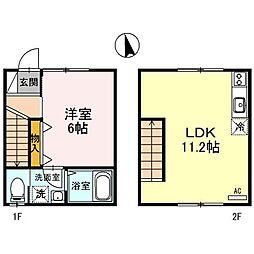 兵庫県姫路市山吹2丁目の賃貸アパートの外観