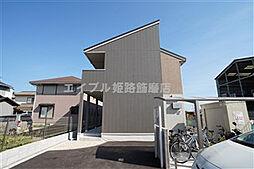 兵庫県姫路市大津区勘兵衛町2の賃貸アパートの外観