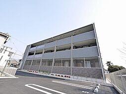 奈良県奈良市北京終町の賃貸アパートの外観