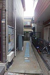東京都大田区大森南3丁目の賃貸アパートの外観