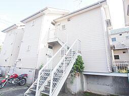 神奈川県川崎市多摩区栗谷の賃貸アパートの外観