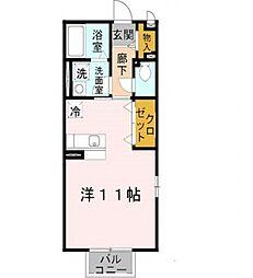 Comfort紘(コンフォート紘)[201号室号室]の間取り