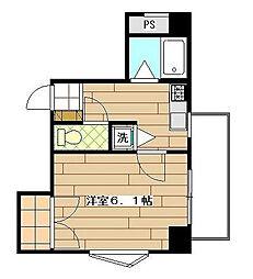 ルネサンス高島平[3階]の間取り