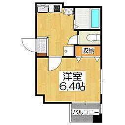 五条高倉Vivre2[5階]の間取り
