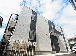 千葉県柏市あけぼの4の賃貸アパートの外観