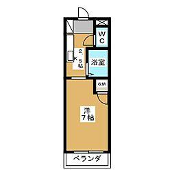 ノアーズアーク桃山[2階]の間取り