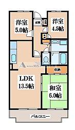 M TAKAI[3階]の間取り