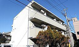 埼玉県草加市草加5の賃貸マンションの外観