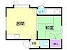 間取り,1DK,面積27.22m2,賃料3.3万円,バス くしろバス鳥取神社前下車 徒歩3分,,北海道釧路市鳥取大通3丁目19-2