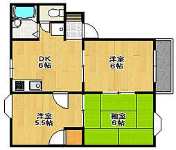 兵庫県神戸市西区上新地2丁目の賃貸アパートの間取り