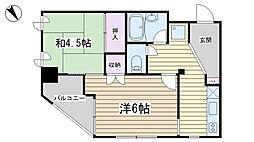 渡辺ビル[2階]の間取り