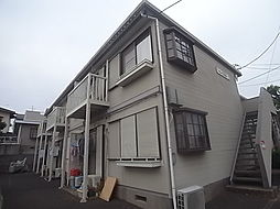千葉県我孫子市台田3丁目の賃貸アパートの外観