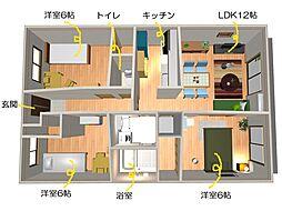 ブレインマンション[503号室]の間取り