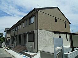 千葉県野田市上花輪新町の賃貸アパートの外観