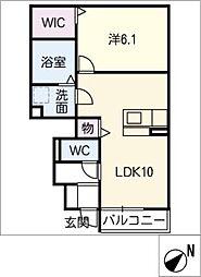 仮)D−room山道町[1階]の間取り