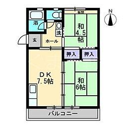 Speranza Takamatsu[4階]の間取り
