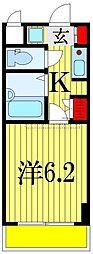 ラ・コート・ドール津田沼[2階]の間取り