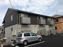茨城県水戸市愛宕町の賃貸アパートの外観