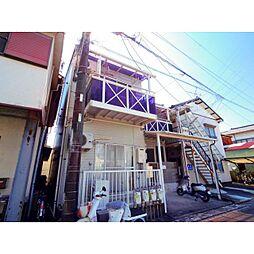静岡県静岡市駿河区小鹿2丁目の賃貸アパートの外観