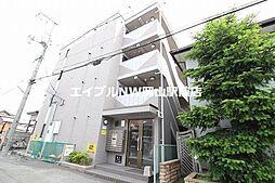 岡山県岡山市北区奉還町4の賃貸マンションの外観