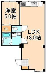 永和ビル[2階]の間取り