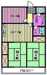 第3小池ビル[4階]の間取り