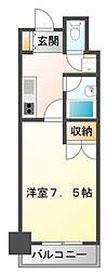 KM江坂[3階]の間取り