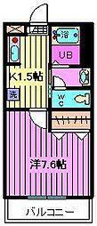 埼玉県さいたま市大宮区大成町3丁目の賃貸マンションの間取り