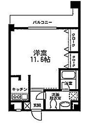 ソレイユ西蒲田 bt[402kk号室]の間取り